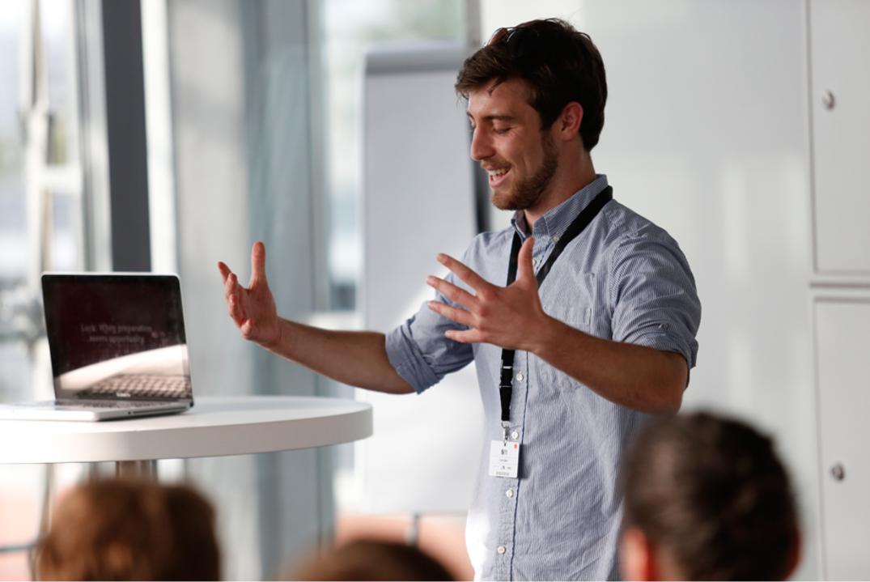 Colin Berr Presentation Coach